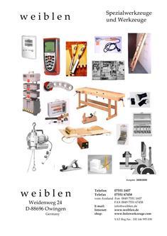 Spezialwerkzeuge und Werkzeuge 2008 - 2009