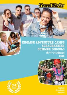 English Adventure Camps für Schüler 2016