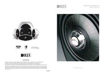 KEF Audio home theatre 3000 Series