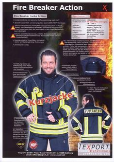 Prospekt Texport FireBreaker Action von Neumeister Brandschutz ...