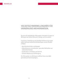 Standgeräte Mikrowellengeräte 2011/2012