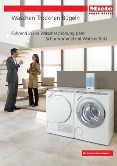 waschmaschine h he ohne arbeitsplatte in waschen trocknen b geln 2009 von miele. Black Bedroom Furniture Sets. Home Design Ideas