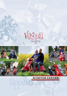 Vespa New Line Ersatzteile 2008