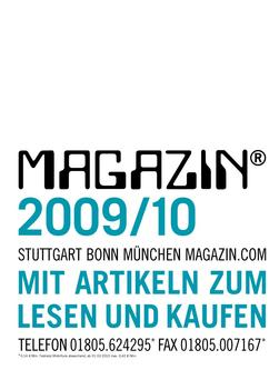 Magazin 2009/10