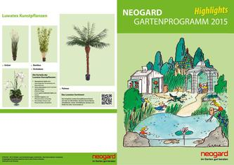 "Neogard Gartenprogramm ""Highlights"" 2015"