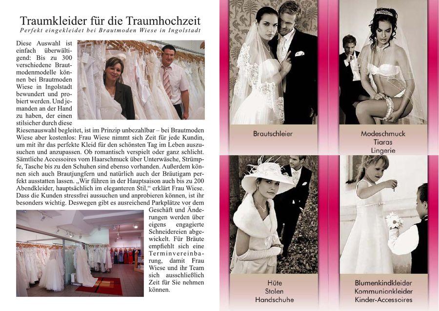 Mode Impressionen 2008 Von Brautmoden Wiese
