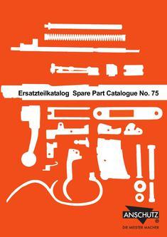 Ersatzteilkatalog komplett, orange 1975