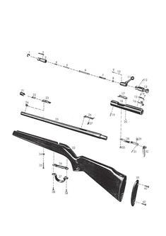 1357 - Einzellader Sportkarabiner01/1966