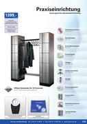 Garderobe stahl in physio fitness ger te 2011 2012 von for Offene garderobensysteme