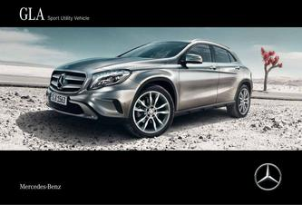 GLA Sport Utility Vehicle 2016