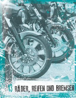 Räder, Reifen und Bremsen 2013