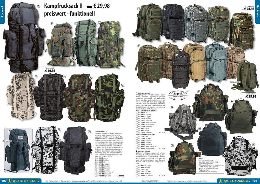 01e02fafb28e6 Taschen und Rucksäcke 2012 von Kotte   Zeller