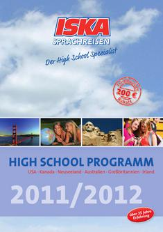 HIGH SCHOOL Programm 2011/2012