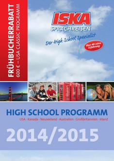HIGH SCHOOL PROGRAMM 2014/2015