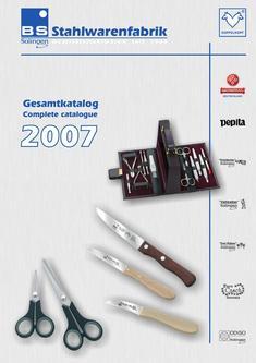 Qualitätsstahlwaren 2007