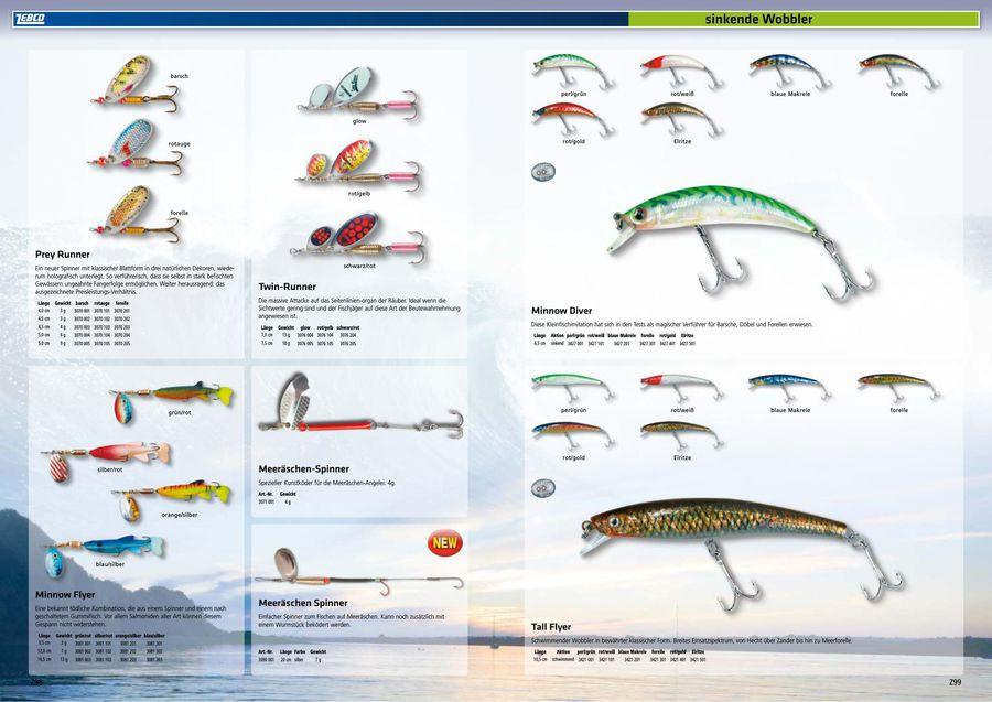 Zebco Tall Flyer blaue Makrele 10,5cm
