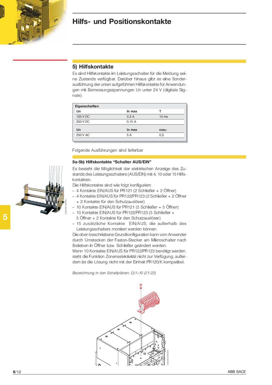 Seite 114 von Emax Offene Leistungsschalter