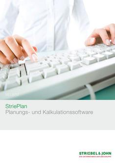 StriePlan Planungs- und Kalkulationssoftware