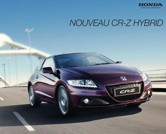 Honda CR-Z HYBRID 2013 (Franzsösisch)