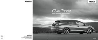 Honda Civic Tourer Preisliste 2016