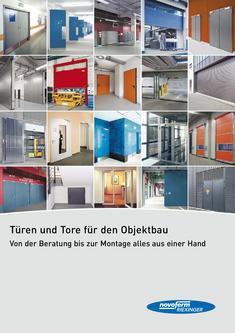 Türen und Tore für den Objektbau 2011