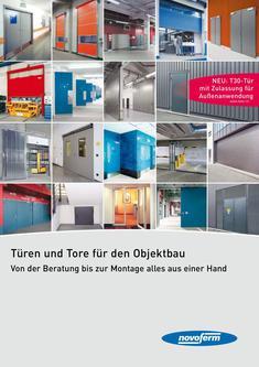 Türen und Tore für den Objektbau 2014