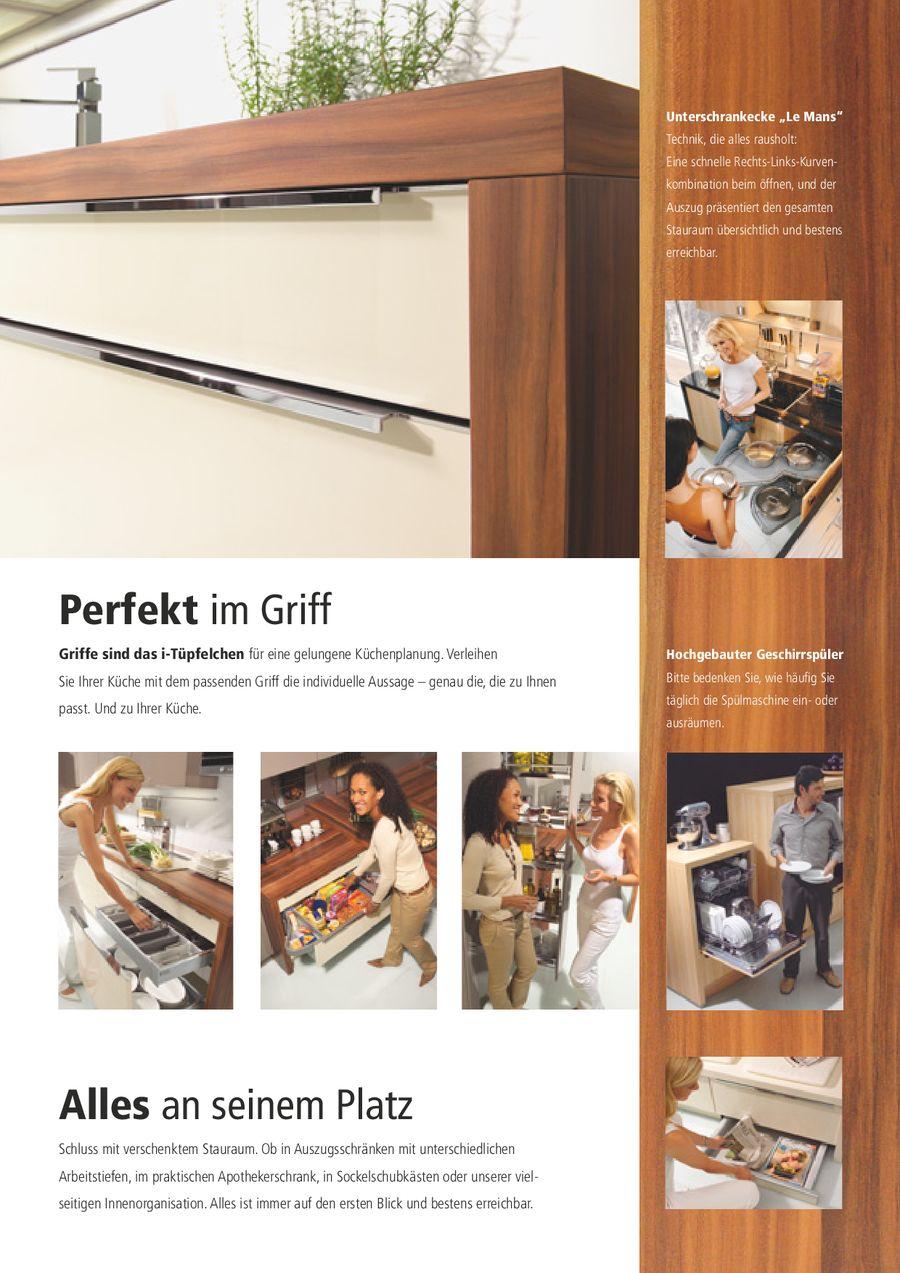 Nolte küchen katalog  Typenübersicht 2008 von Nolte Küchen