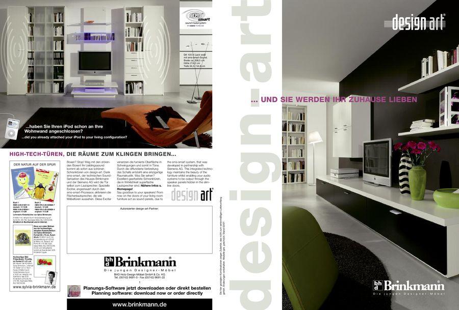 Brinkmann Markenmobel Design Wohnwand