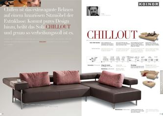 edelstahl design metal in chillout von koinor polsterm bel. Black Bedroom Furniture Sets. Home Design Ideas