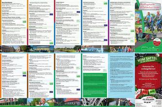 Ausflugskarte & Fietsenbus-Linien