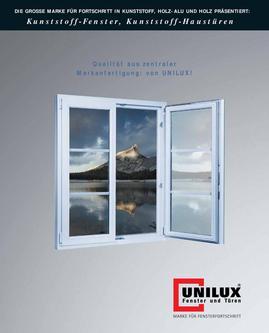 Kunststoff-Fenster & Kunststoff-Haustüren