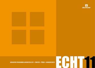 Fenster - Türen - Sonnenschutz 2011