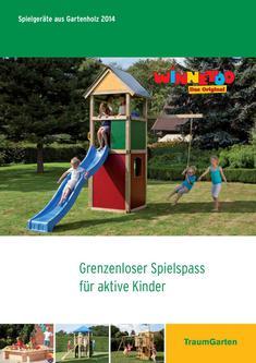 Spielgeräte aus Gartenholz 2014