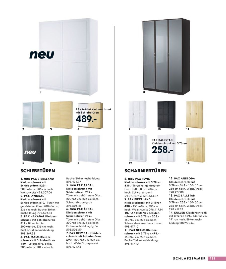 Seite 180 von IKEA Katalog 2009