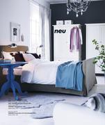 bettgestell hemnes in ikea katalog 2009 von ikea schweiz. Black Bedroom Furniture Sets. Home Design Ideas