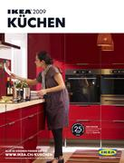 ikea faktum abstrakt rot in k chen 2009 von ikea schweiz. Black Bedroom Furniture Sets. Home Design Ideas