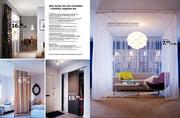 schiebegardine papier in gardinensystem kvartal 2010 von. Black Bedroom Furniture Sets. Home Design Ideas