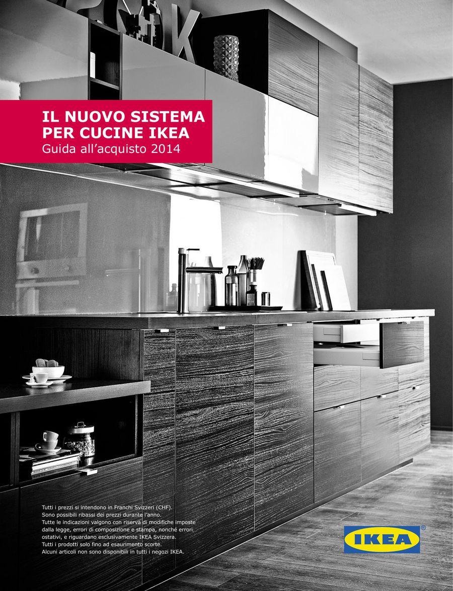 Cucine Ikea Guida all\'acquisto 2014 (Italienisch) von Ikea Schweiz