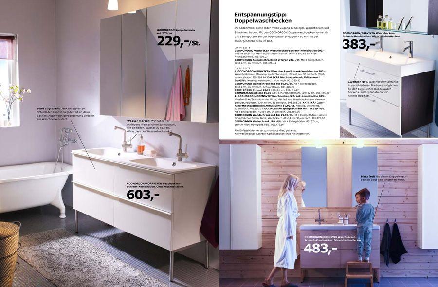Ikea spiegelschrank godmorgon  Badezimmer 2010 von Ikea Österreich
