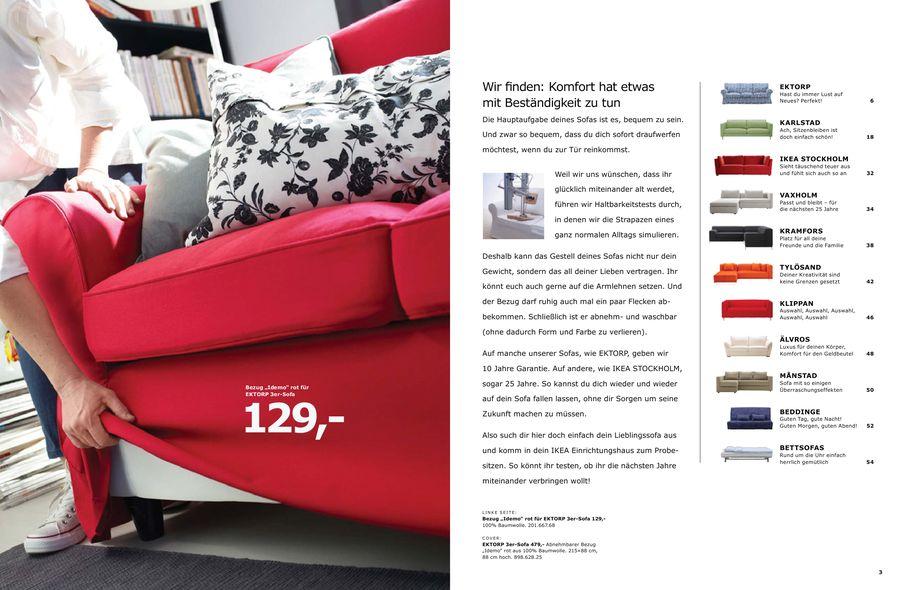 Polstermöbel 2010 von Ikea Österreich