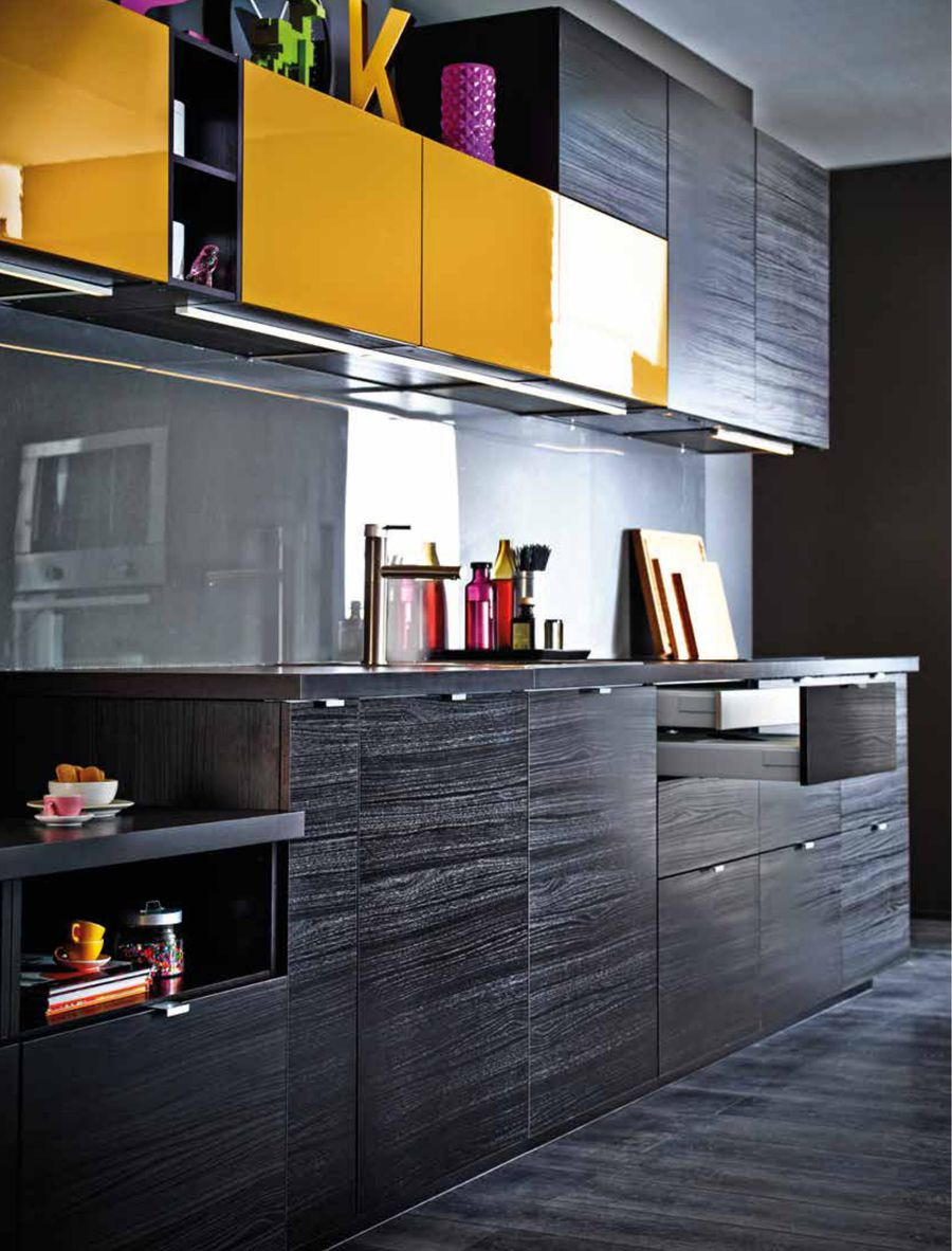 ikea k chen schwarz. Black Bedroom Furniture Sets. Home Design Ideas