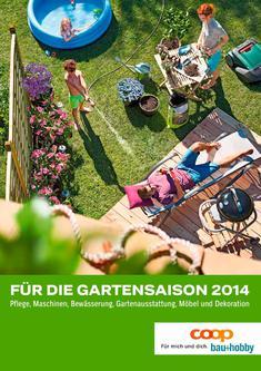 Für die Gartensaison 2014