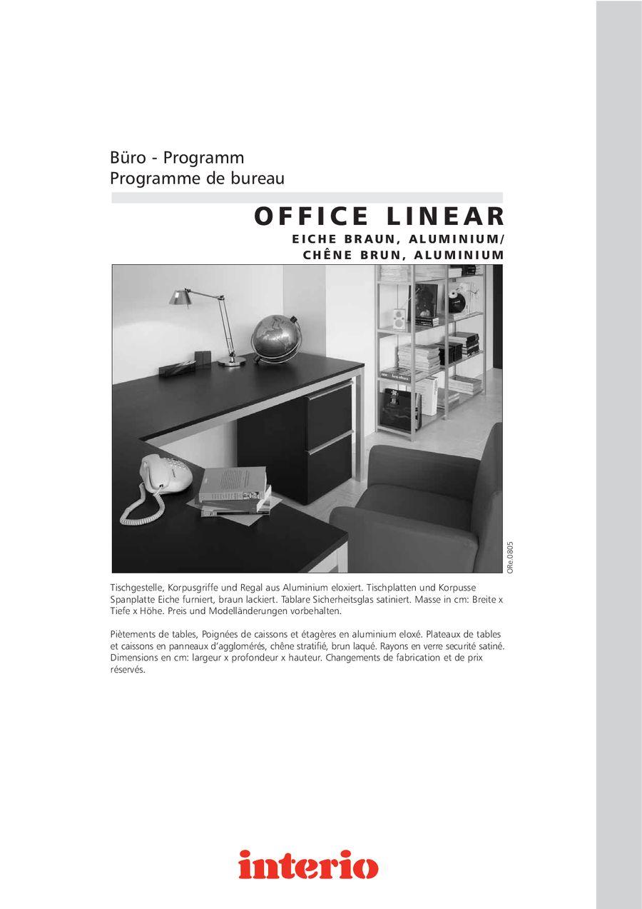 Büro Programm Office Linear Von Interio
