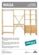 regalsystem holz in wasa regalsysteme 07 09 von micasa. Black Bedroom Furniture Sets. Home Design Ideas