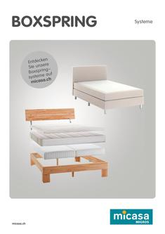 Boxspring Systeme 2017