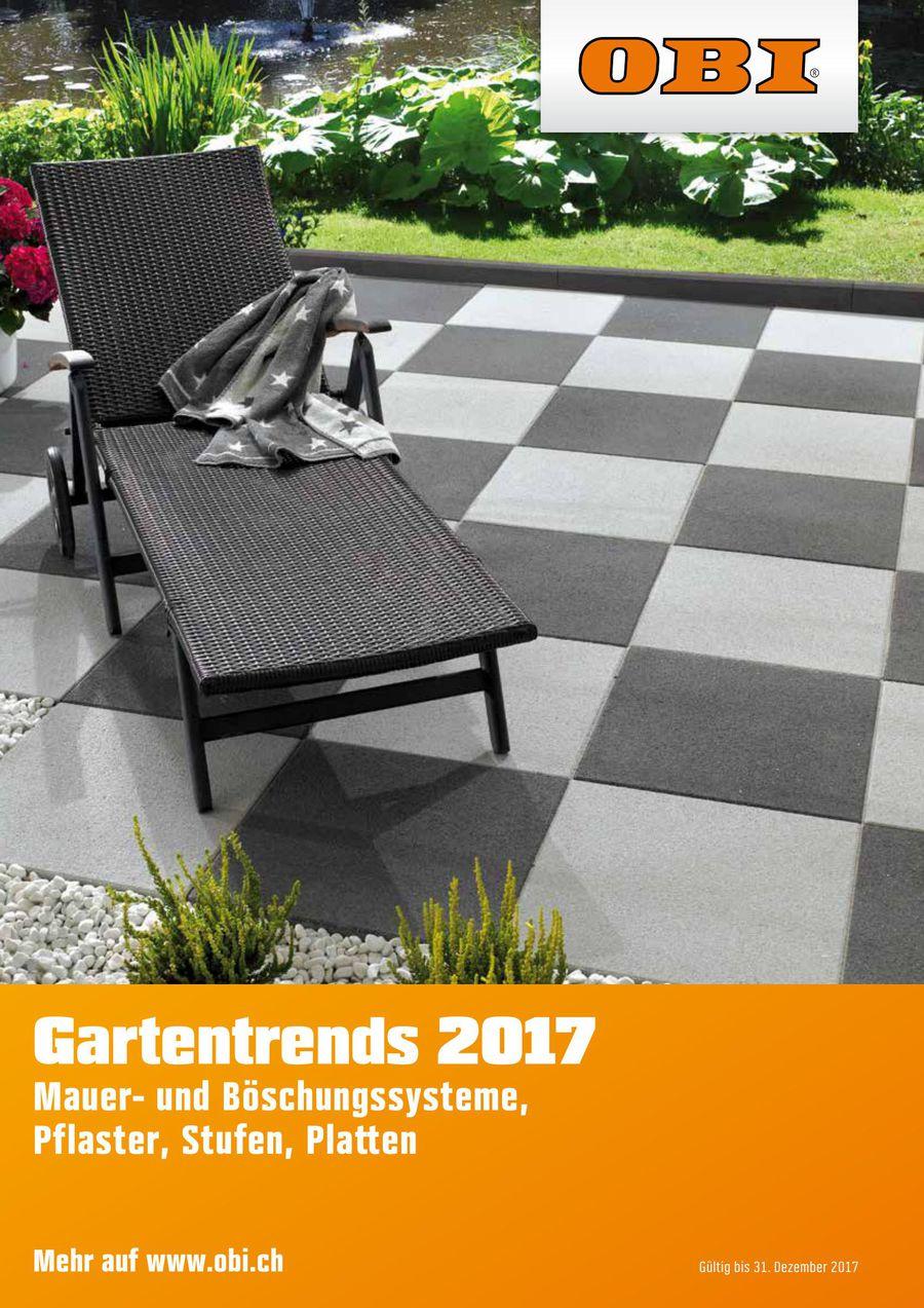 Gartentrends 2017 Von Obi Schweiz