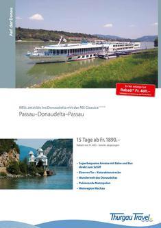 MS Classica: Passau - Donaudelta - Passau 2014