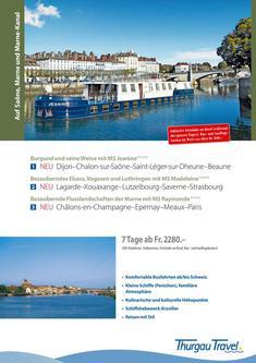 MS Jeanine, MS Madeleine und MS Raymonde: Kanalfahrten in Frankreich 2014