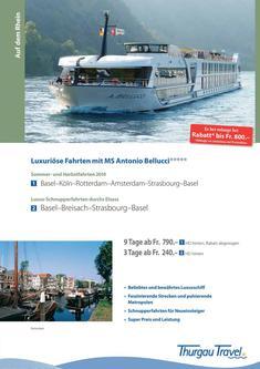 MS Antonio Bellucci: Sommer- und Herbstfahrten 2014