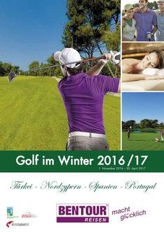 Golf im Winter 2016/17